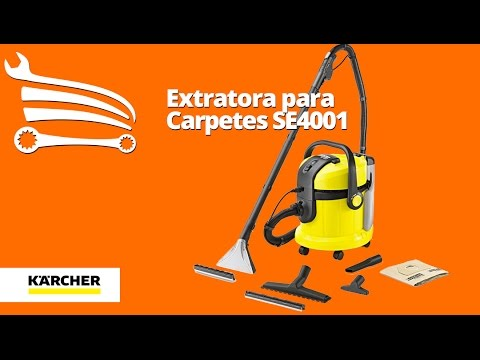 Extratora para Carpetes 1400W  - Video