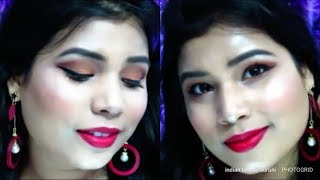 Easy Party Makeup Tutorial | Beginners Special | Indian Beauty Surbhi - Download this Video in MP3, M4A, WEBM, MP4, 3GP