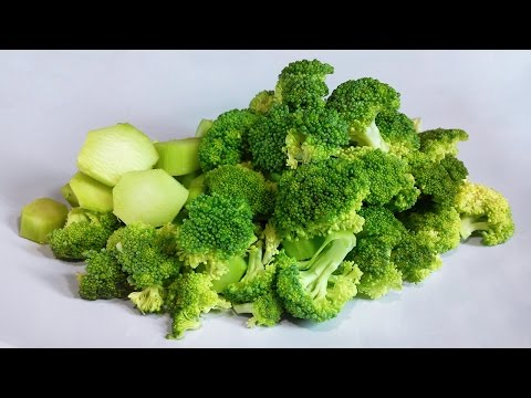 Video Do you really know how to eat healthy broccoli?