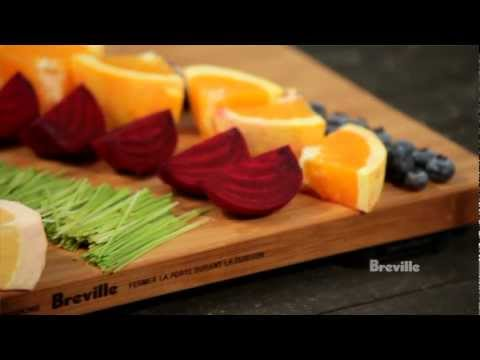 Video Breville -- Health Full Life™: Rainbow Nutrition Juice Recipe with fruits and vegetables
