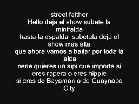 Calle 13 - Atrevete Letra
