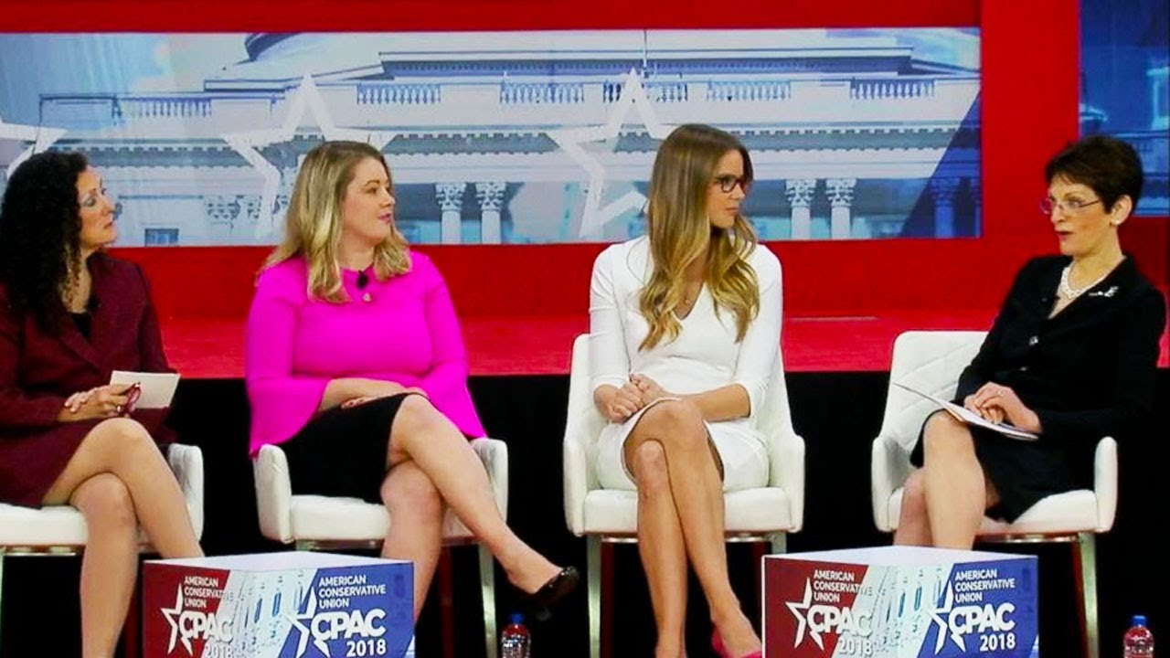 Conservative Woman Escorted Out of CPAC thumbnail