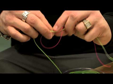 Fly line with your backing