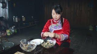 螺蛳新吃法,夜宵摊上都没有人卖过,农村姑娘这样做味美肉更香