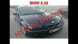 BMW 3.16 hidrojen yakıt tasarruf sistem montajı