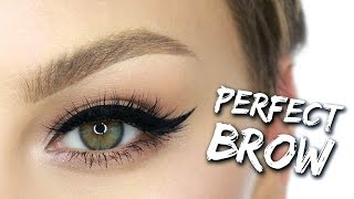 PERFECT Brow Tutorial: How To Use Dipbrow  | Alexandra Anele