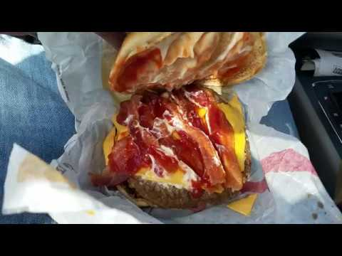 Bacon King Burger King Fast Food REVIEW: #BurgerKing #BaconKing #bk