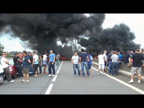 Γαλλία: Κινητοποιήσεις εργαζομένων στο Καλαί