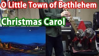 """O Little Town of Bethlehem"" (Christmas Carol) on Sax Quartet"