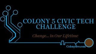 Colony 5's Approach to Civic Tech Activation