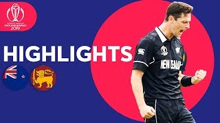 Henry Takes 3 In Big Win | New Zealand vs Sri Lanka - Match Highlights | ICC Cricket World Cup 2019