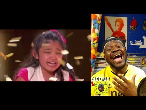 Angelica Hale: gets GOLDEN BUZZER after burning down AGT with