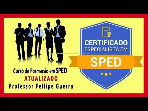 Curso de Formação em SPED ➜ ATUALIZADO - Professor Fellipe Guerra