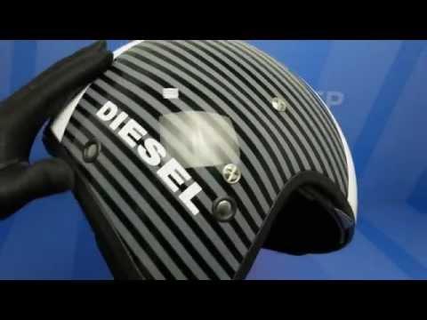 Diesel Hi-jack Cool Digit белый/черный Шлем