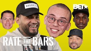 "Joyner Lucas Laughs at Logic's ""Sriracha"" Bars + Method Man, Hopsin, John Cena | Rate The Bars"