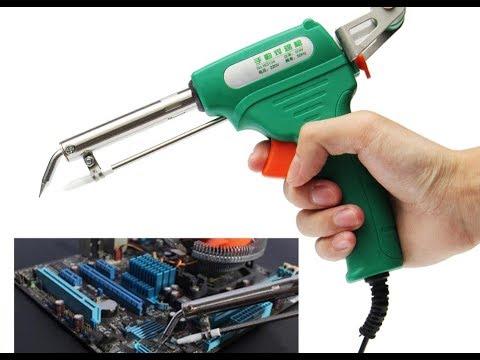 Wynns W3104 220V 60W Hand Automatic Electric Weld Soldering Iron Gun Tool Set