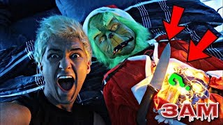 DO NOT CUT OPEN THE GRINCH AT 3AM!! *OMG WHAT