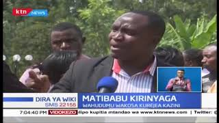 Wahudumu wa Afya Kirinyaga wakosa Kurejea Kazini, wakisema malalamishi yaangaziwe kwanza