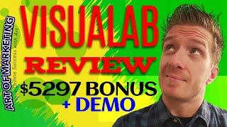 Visualab Review, Demo, $5297 Bonus, Visual Lab Review