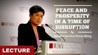 [Lecture] Peace and Prosperity in a Time of Disruption