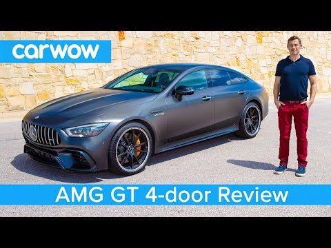 External Review Video rTJeyN_x3zc for Mercedes-AMG GT 4-Door Coupe Sedan (X290)