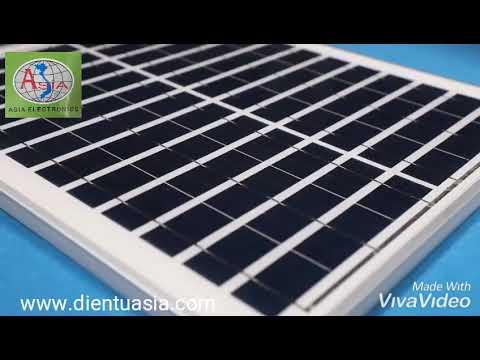 Đèn pha năng lượng Mặt Trời - Solar light 100W - www.dientuasia.com