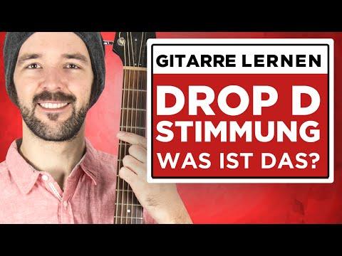 Drop-D Stimmung - Was ist das?