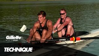 Perfect Rowing Technique with the Canadian Olympic Rowing Team | Gillette World Sport