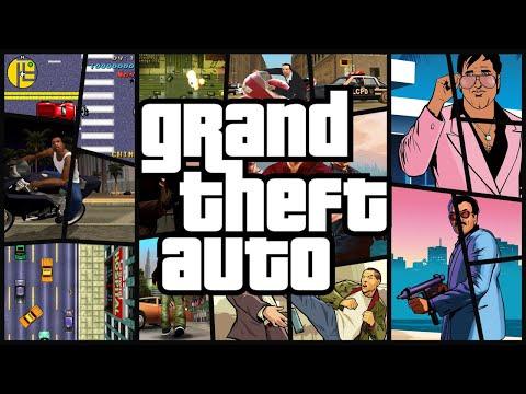 Сравнение всех версий GTA 1, 2, 3, Vice City, Advance, San Andreas, Liberty City Stories, 4, 5
