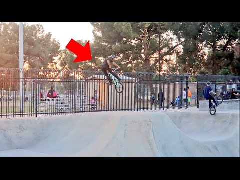 SICK BMX ONLY PARK SESSION AT MOSQUEDA
