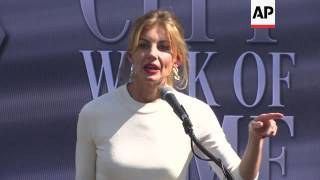 Tim McGraw and Faith Hill get emotional receiving stars on Music City Walk of Fame