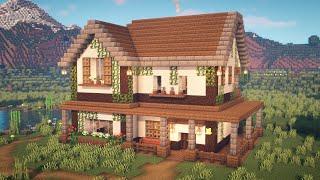 「Minecraftで綴る、ていねいな暮らし。ドールハウスのようなサバイバル拠点」のサムネイル
