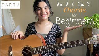 (Part1) 11 Basic Guitar Chords that every Beginner Guitarist should know ~ Open Major & Minor Chords