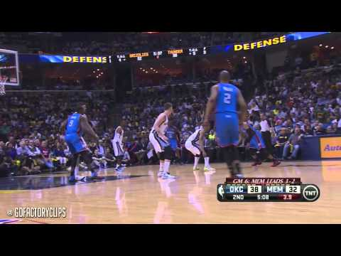 Kevin Durant & Russell Westbrook Full Combined Highlights at Grizzlies – 2014 Playoffs West R1G6