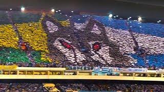Mosaico Da Torcida Do Paysandu Na Final Da Copa Verde. 16.05.2018