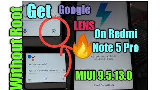how to enable Google lens google camera in Redmi note 5 pro - ฟรี