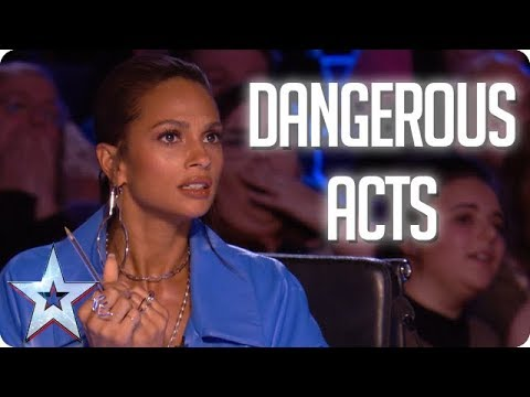 MOST DANGEROUS ACTS | Britain's Got Talent 2018 (видео)