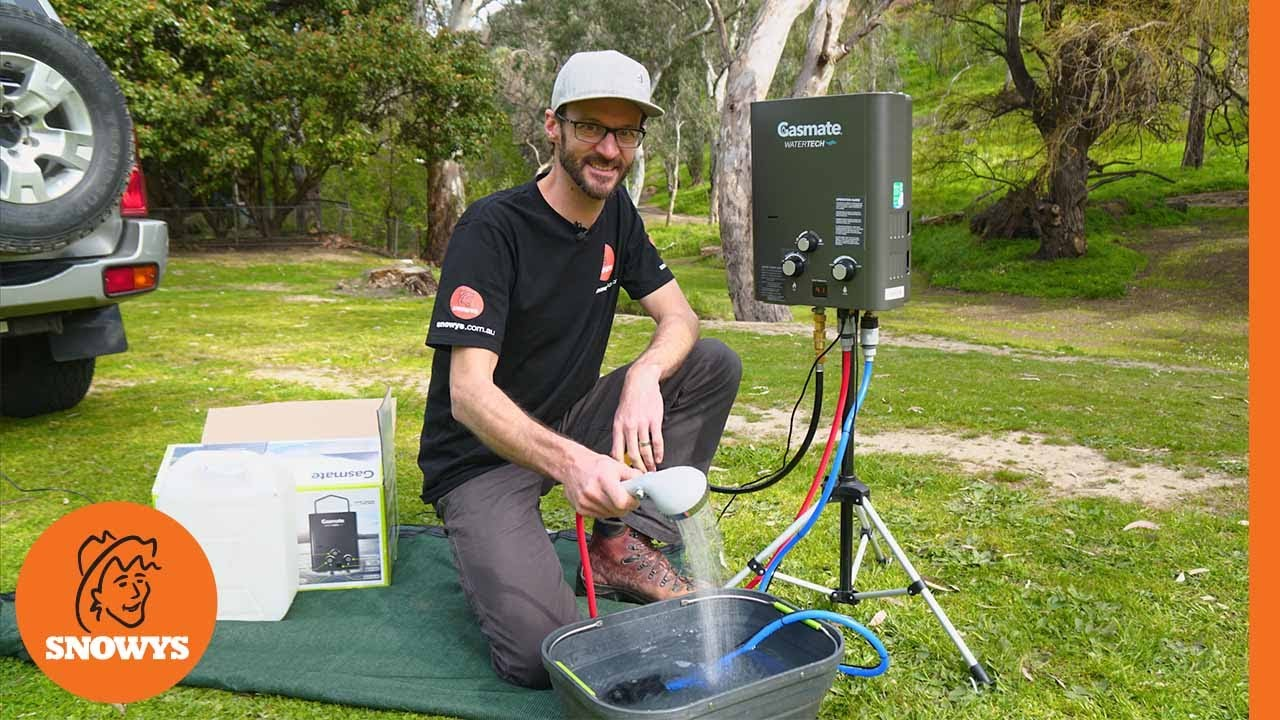 WaterTech Portable Hot Water System