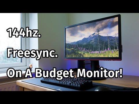 AOC G2460PF Freesync Monitor Review