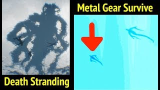 Death Stranding Flying Creature In Metal Gear Survive (Easter Egg)