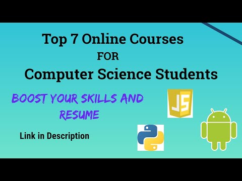 Top 7 Online Courses for Computer Science Students