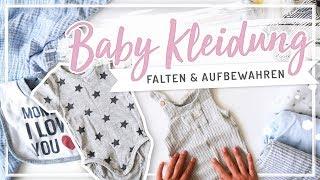 BABY KLEIDUNG falten & organisieren nach Marie Kondo