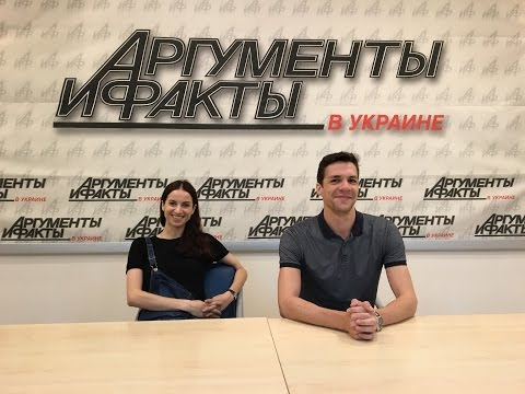 Наталия Мацак и Денис Недак в гостях у АиФ.ua