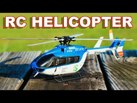Scale Brushless RC Helicopter XK K124 EC145 – Inverted Flight – TheRcSaylors