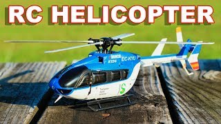 Scale Brushless RC Helicopter XK K124 EC145 - Inverted Flight - TheRcSaylors