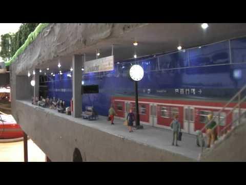 S-Bahn Tunnelbahnhof mit Märklin BR 420 + ESU LokSound