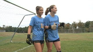 Friendship forged in goal at Ledyard