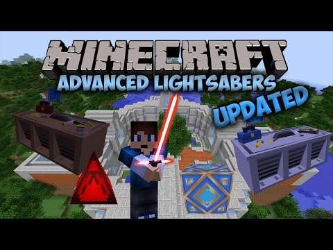 Jedi Temples! | Advanced Lightsabers Mod (UPDATED) | Minecraft Mod Showcase #15