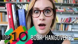 Top 10 Book Hangovers | Hunger Games, The Martian & More | Epic Reads