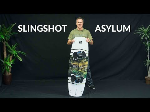 2018 Slingshot Asylum Kiteboard Review